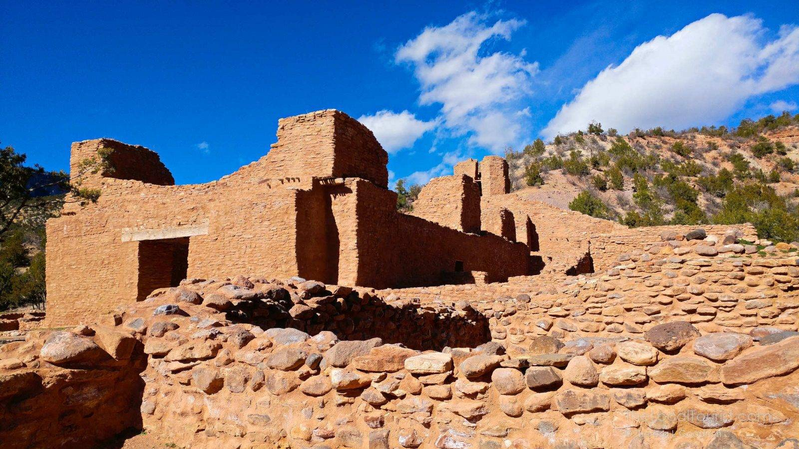The past is present at the Jemez Historic Site in New Mexico