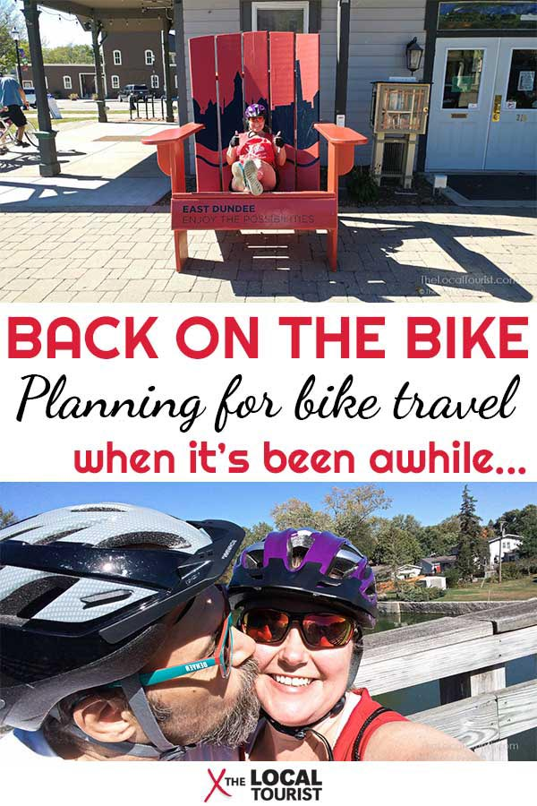 You don't have to be young to ride bikes while traveling. We're getting back on the bikes and taking them with us cross-country.