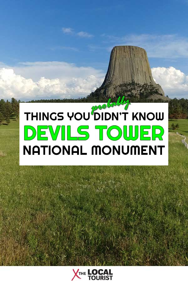 Learn why Devils Tower National Monument is a clerical error, and other things you (probably) didn't know about this Wyoming landmark. #USA #Wyoming #NationalMonument #Wyoming #devilstower #westernus #nationalparks