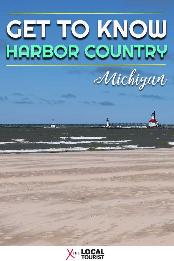Harbor Country is a collection of eight beach towns in Southwest Michigan. The area is known for cute boutiques, delicious wineries, and creative craft beer. It's a resort community just about an hour or so from downtown Chicago. #Michigan #Midwest #USA