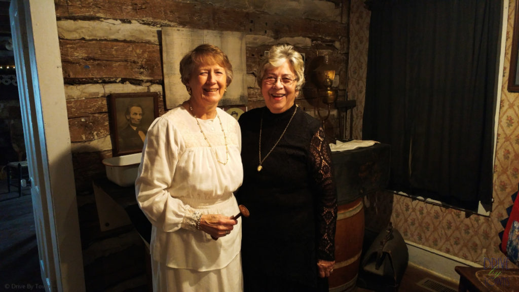 Jan & Jeanie at the Old Stagecoach Museum