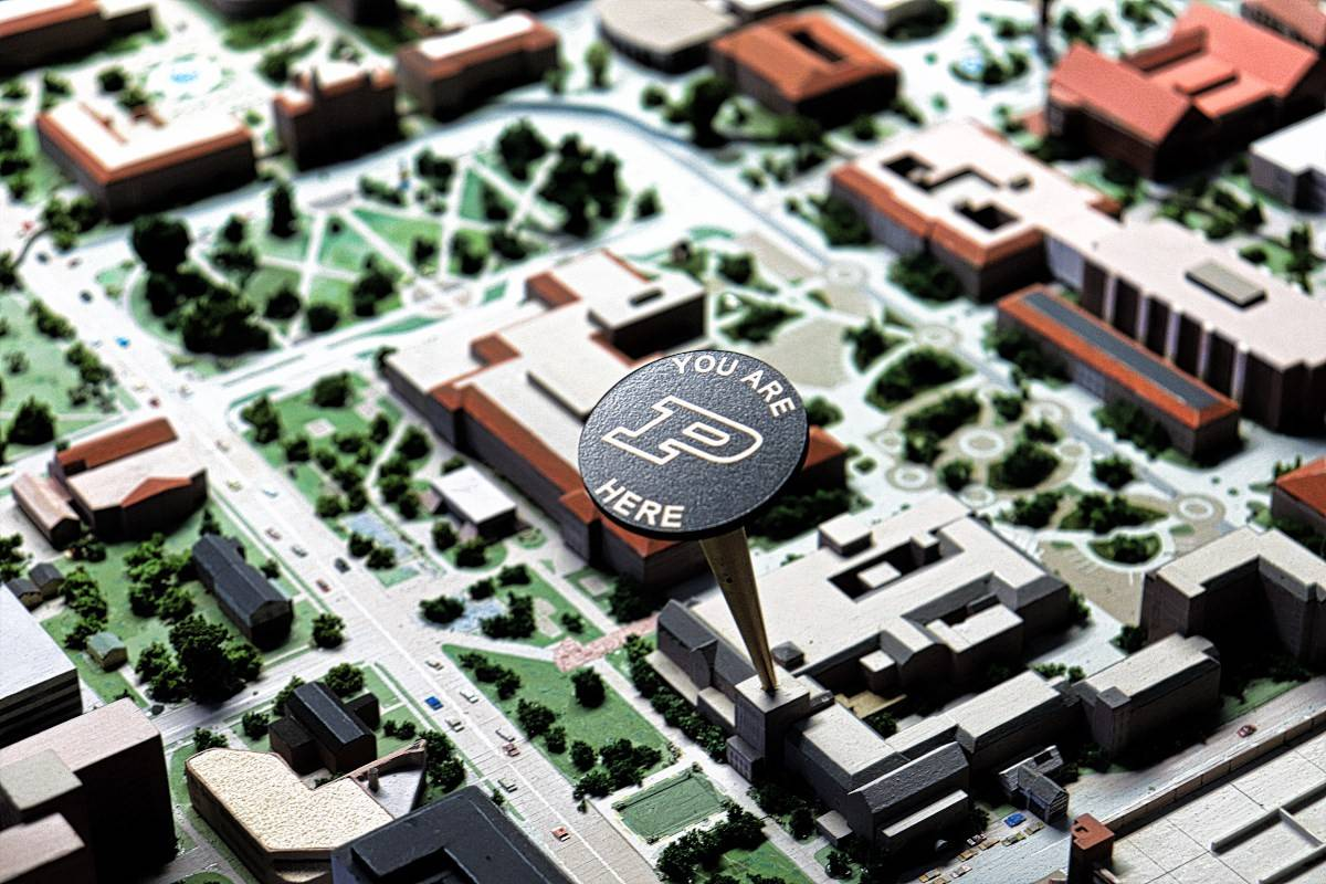 Purdue University - You Are Here