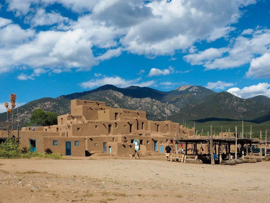Taos Pueblo, photo by Amanda Williams, A Dangerous Business