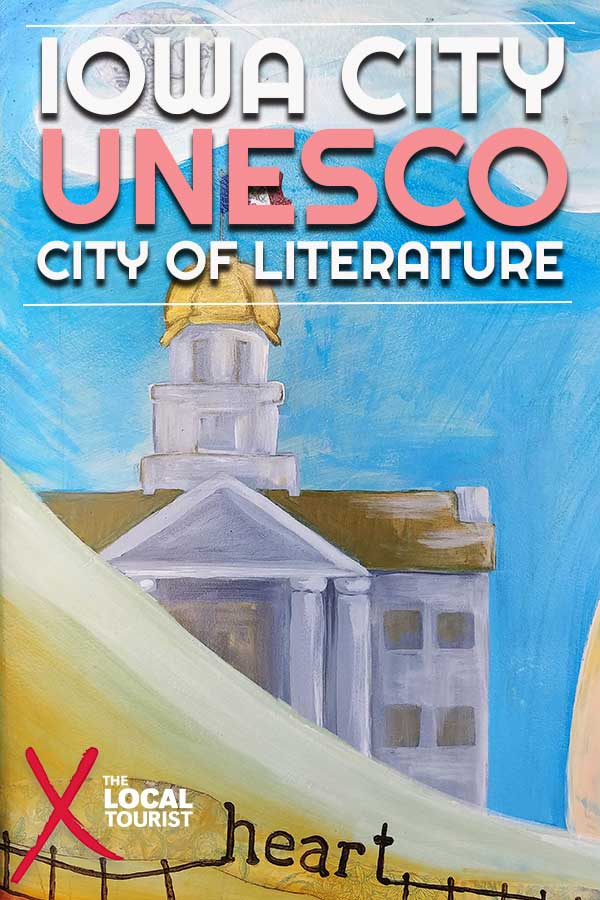 Discover why Iowa City was designated a UNESCO City of Literature, and more reasons this Midwestern town is a destination for any literary lover #IowaCity #UNESCO #UofI