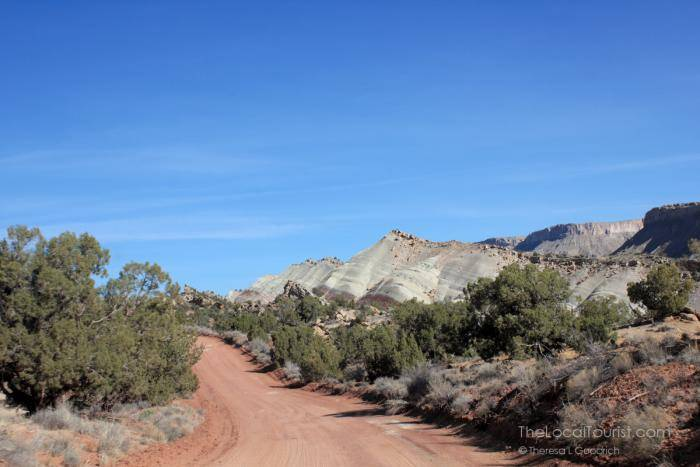 Notom-Bullfrog Road in Capitol Reef National Park