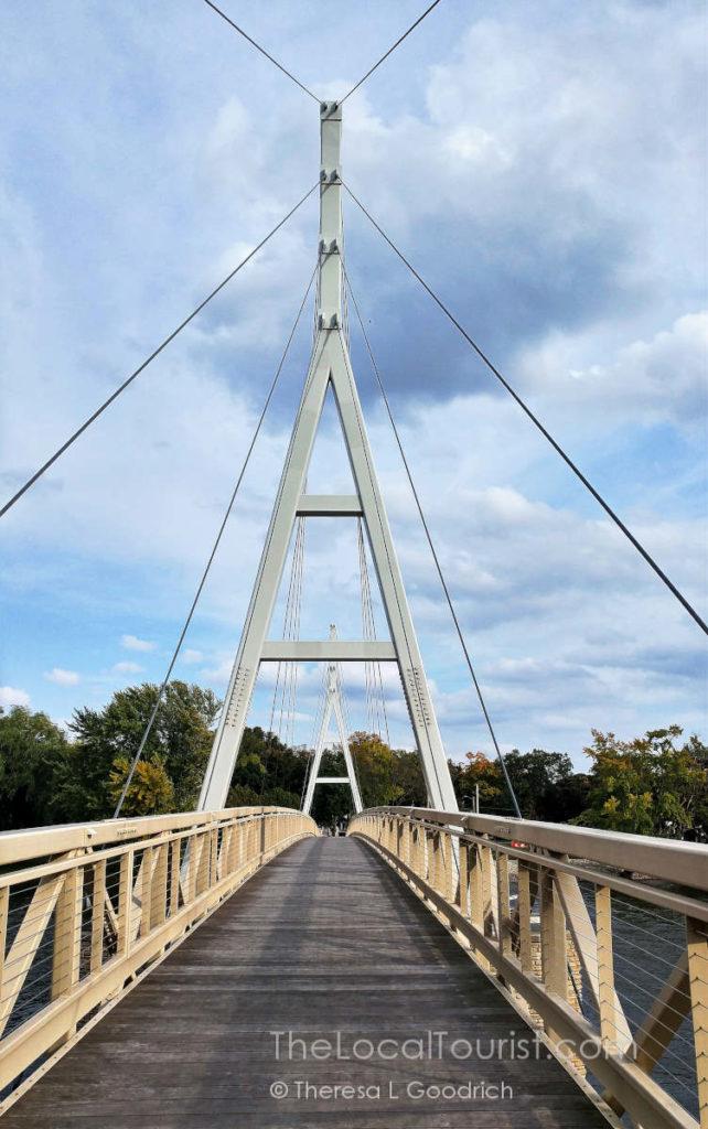 Charles City Suspension Bridge