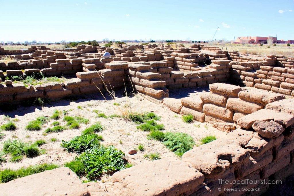 """Ruins"" at Coronado Historic Site"