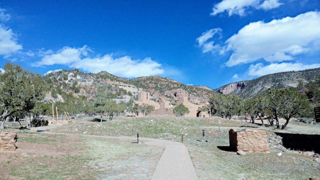 Interpretive Trail at Jemez Historic Site