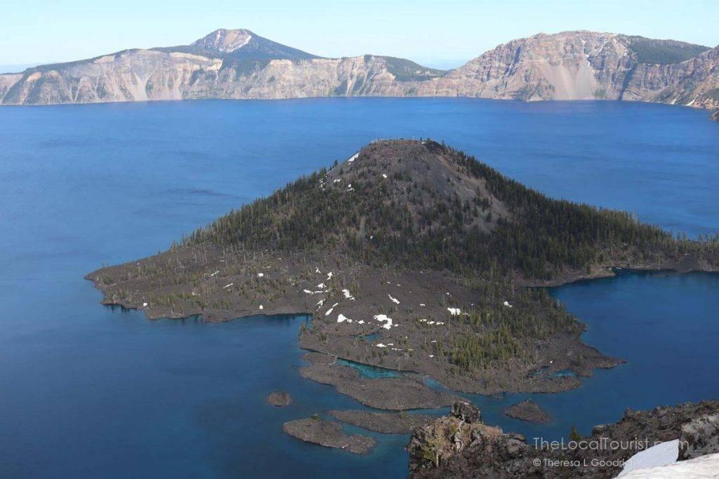 Wizard Island - a volcano within a volcano