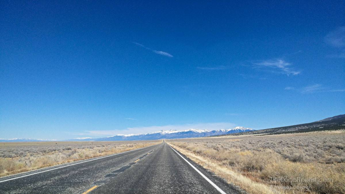 Road to Great Sand Dunes National Park