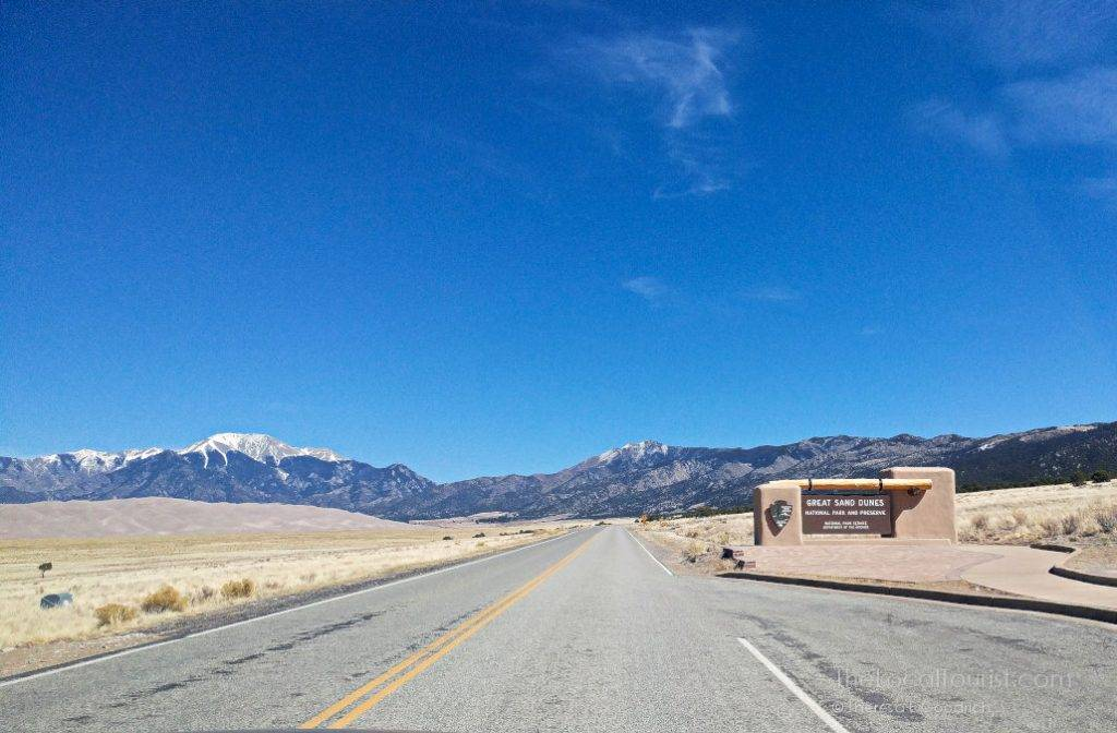 Entrance to Great Sand Dunes National Park