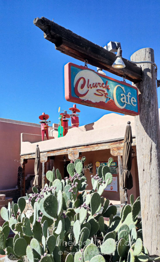 Church Street Cafe in Old Town Albuquerque