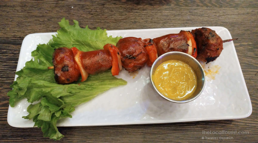 shivved sausage and meatballs at Prison Hill Brewing Co. in Yuma