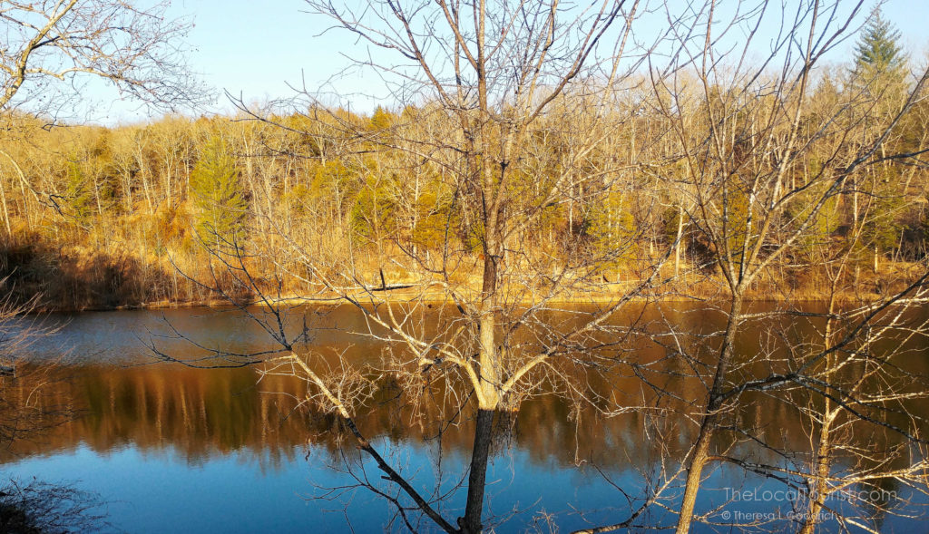 Emerald Lake at Blue Jay Farm in Pulaski County, Missouri