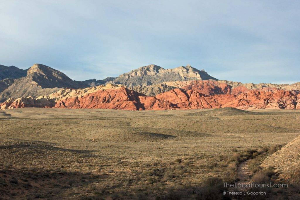 Red Rock Canyon outside of Las Vegas, Nevada