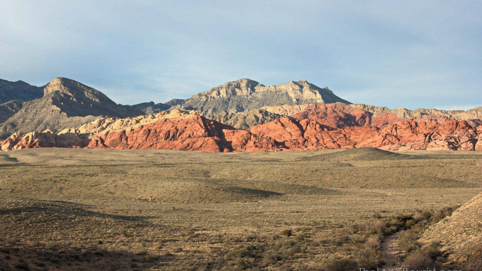 Red Rock Canyon outside of Las Vegas, Nevada