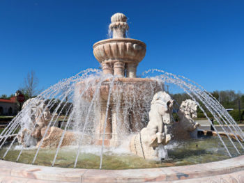 Fountain at Ridgeland Mississippi