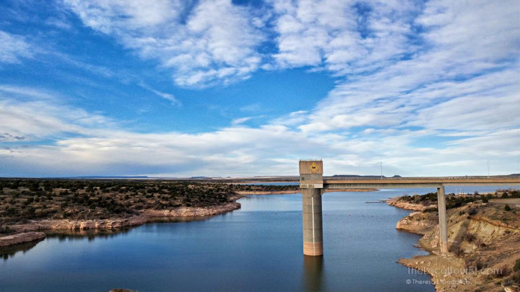 Santa Rosa Dam and Lake in Santa Rosa, New Mexico
