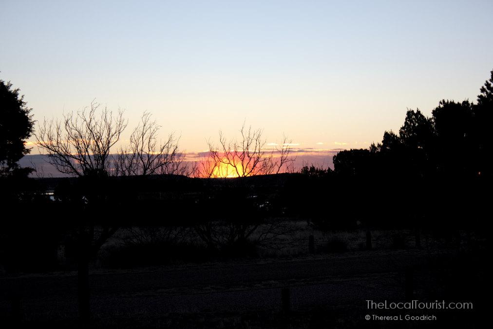 Sunrise at Santa Rosa Lake State Park