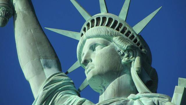 Statue of Liberty, photo by Tracy Collins of Tracy Travels in Time