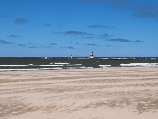 Beach in Southwest Michigan