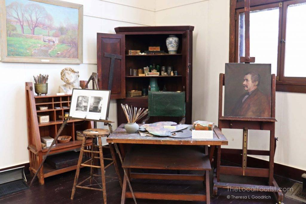 T.C. Steele studio