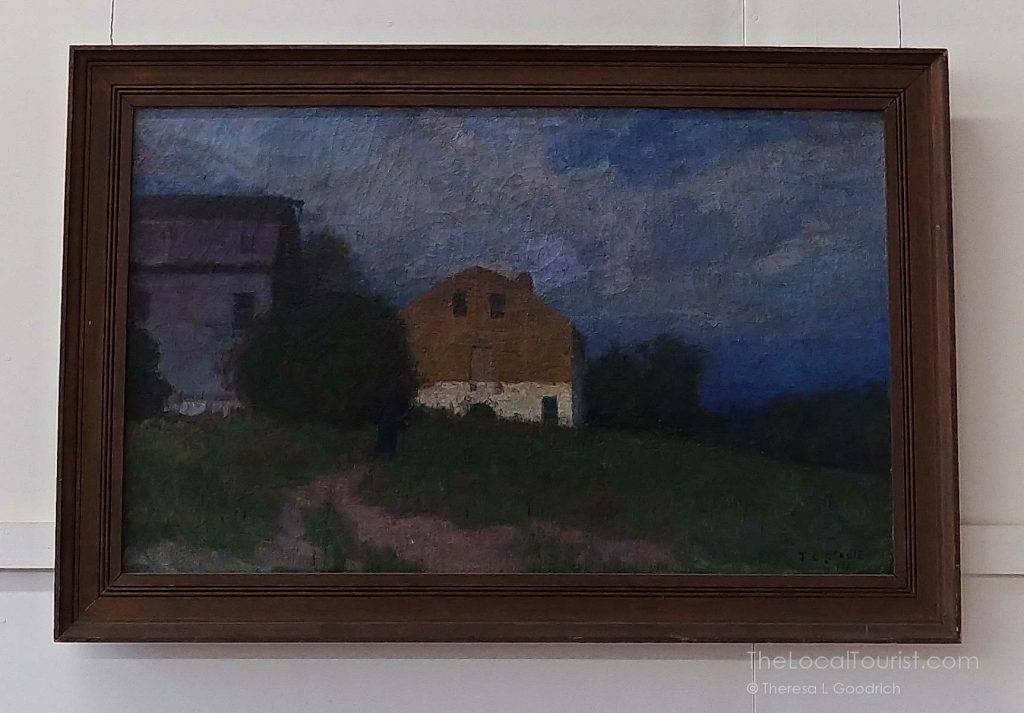 T.C. Steele Painting post-Libbie's death