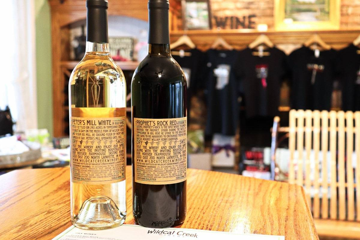 Wildcat Creek Winery in Lafayette, Indiana