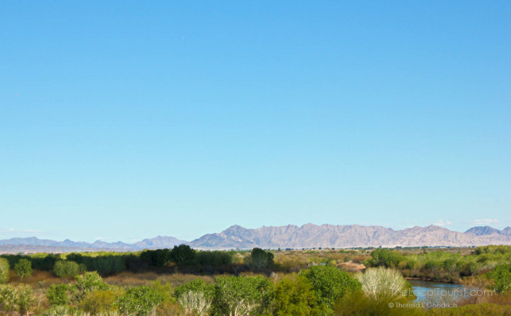 View from Yuma Territorial Prison