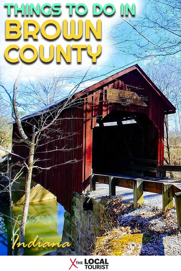 What was once an isolated village in amber is now a thriving tourist destination. See why you should visit Brown County, Indiana.