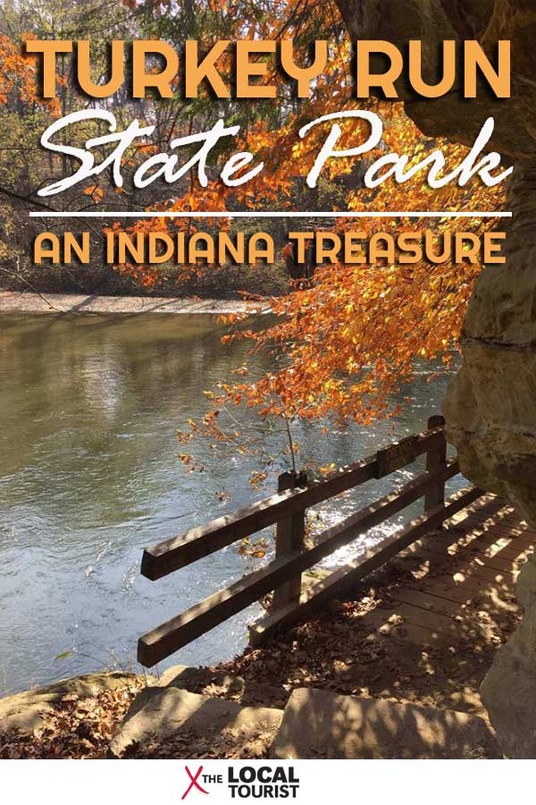 Turkey Run State Park is one of Indiana's treasures. See what it's like to hike through its wooded trails.