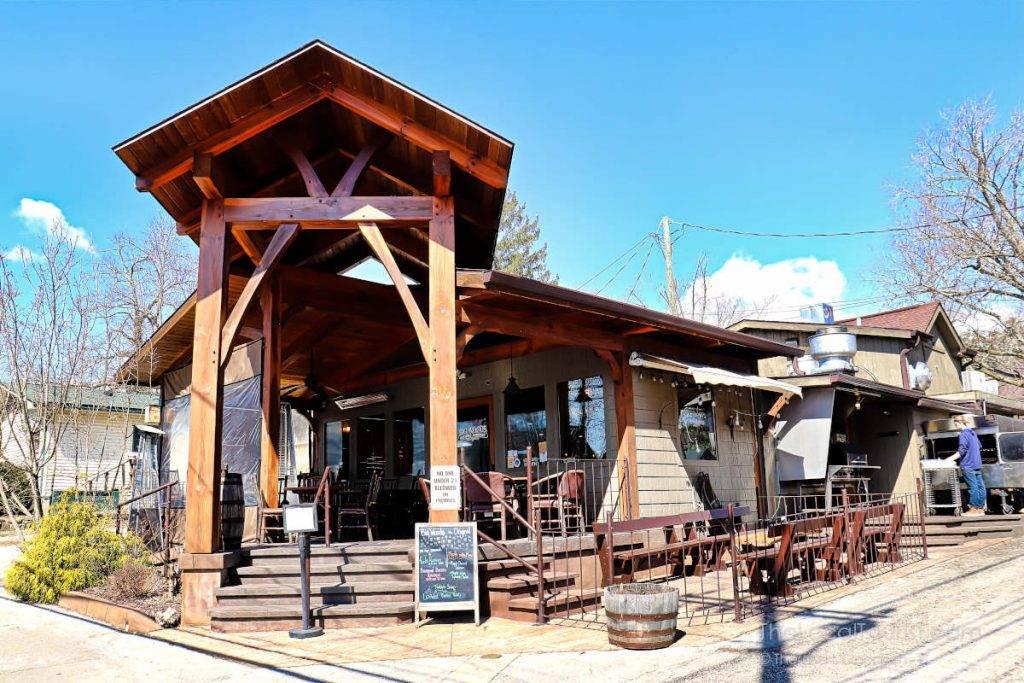 The Original Big Woods Brewpub in Nashville, Indiana, in Brown County
