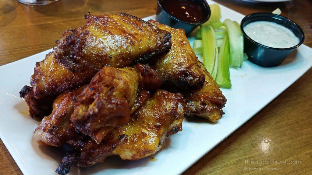 Brewer's wings at Big Woods Restaurant