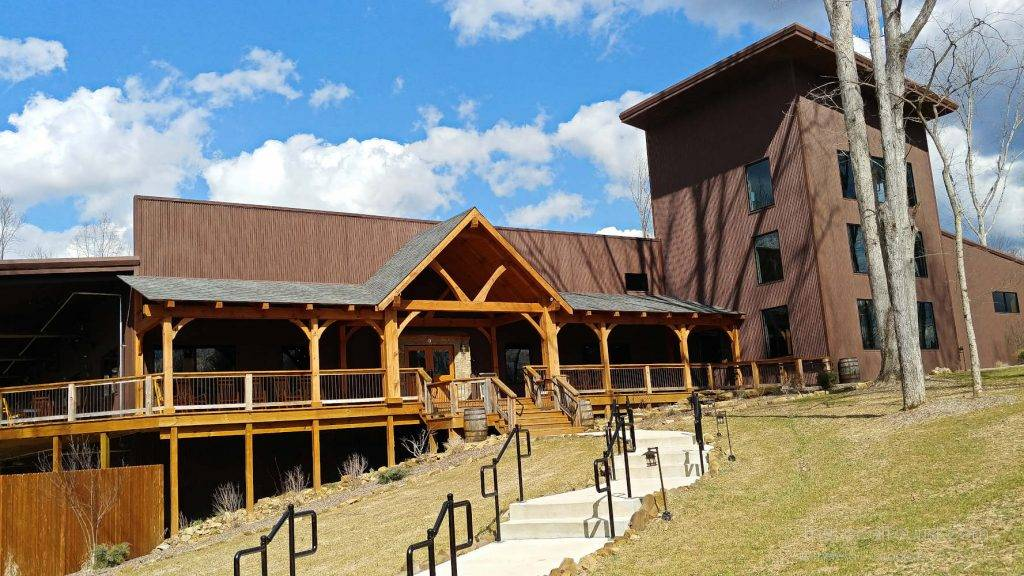 Big Woods Restaurant at Hard Truth Hills in Brown County, Indiana