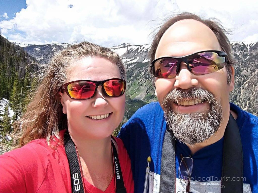 Jim and Theresa on Beartooth Highway