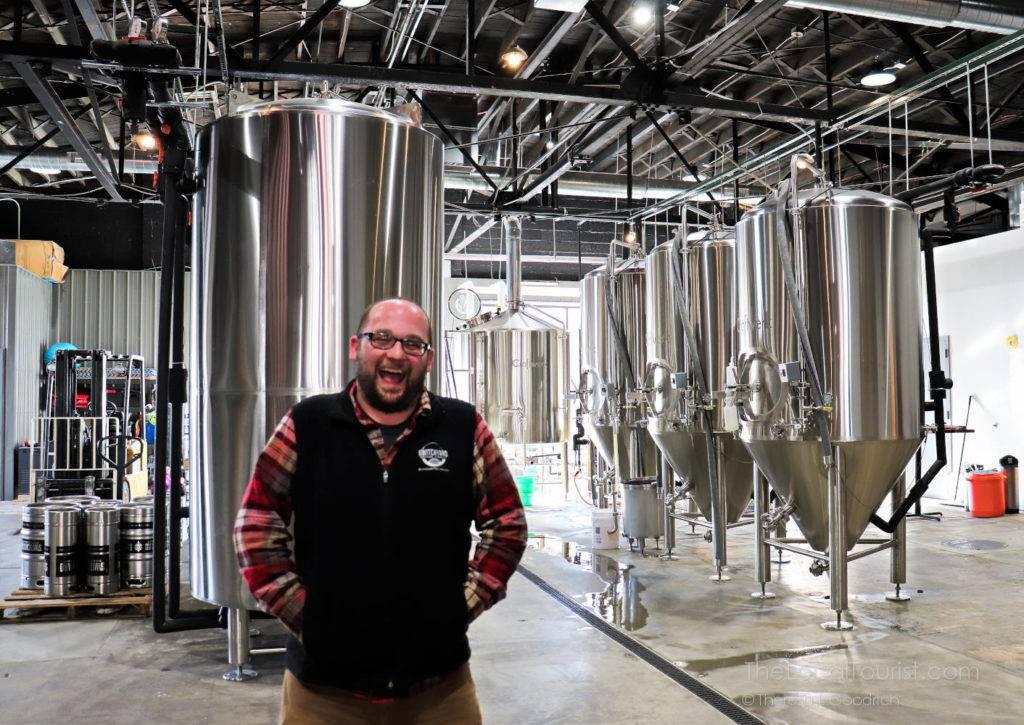 Kurtis Cummings, owner of Switchyard Brewing