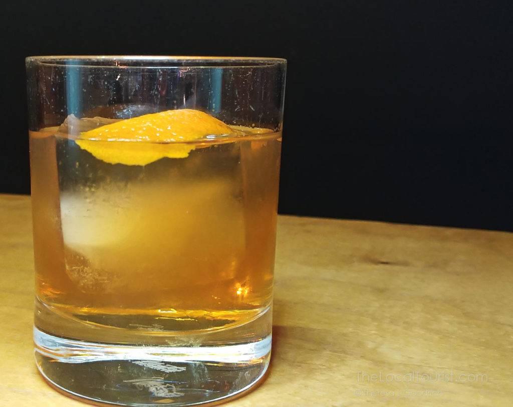 Brandy Old Fashioned at Cardinal Spirits