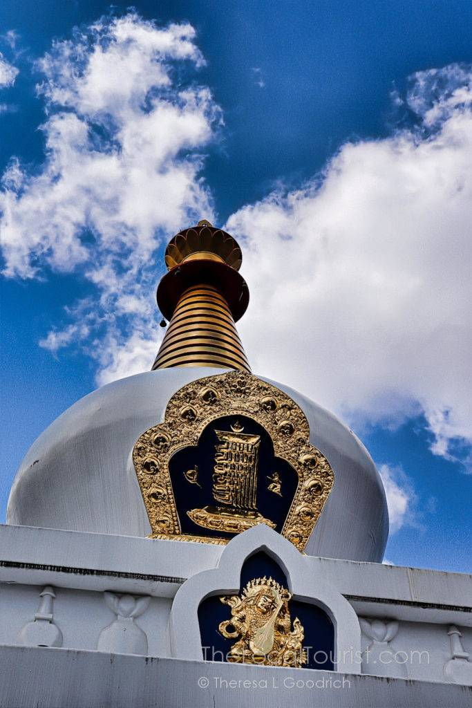 Stupa at Tibetan Mongolian Buddhist Cultural Center