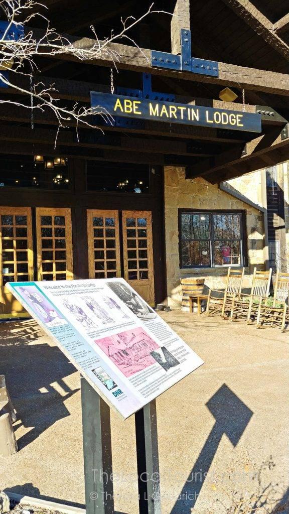Entrance to Abe Martin Lodge