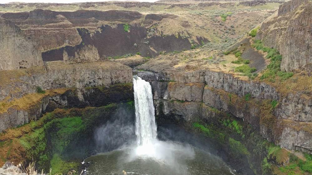 Palouse Falls in eastern Washington