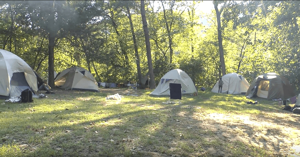 Pulltite Campground in Salem, MO; photo by Asher Fergusson
