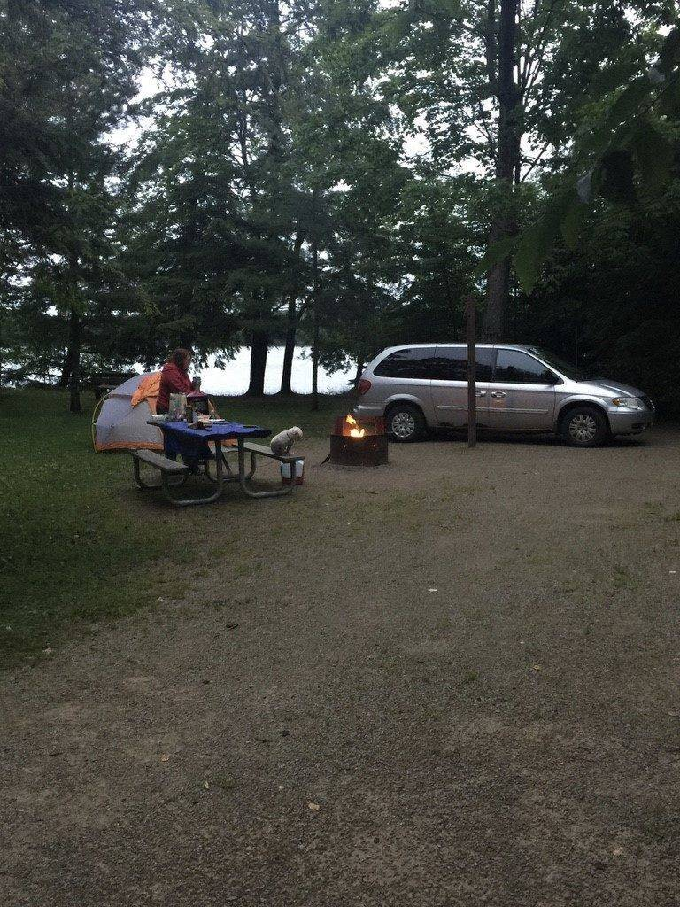 Photo by Deb Thompson - Camping at Colwell Lake Campground