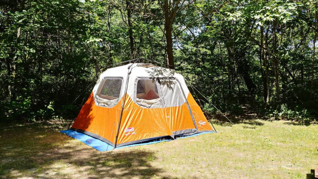 Camping at Governor Dodge State Park - one of the best places to camp in the Midwest