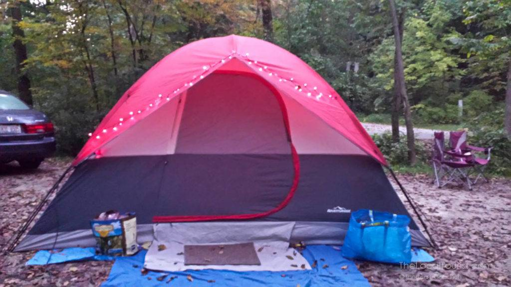 Camping at Kettle Moraine State Park North Unit