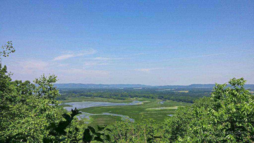 View of Mississippi River from Perrot State Park near Trempeleau, Wisconsin