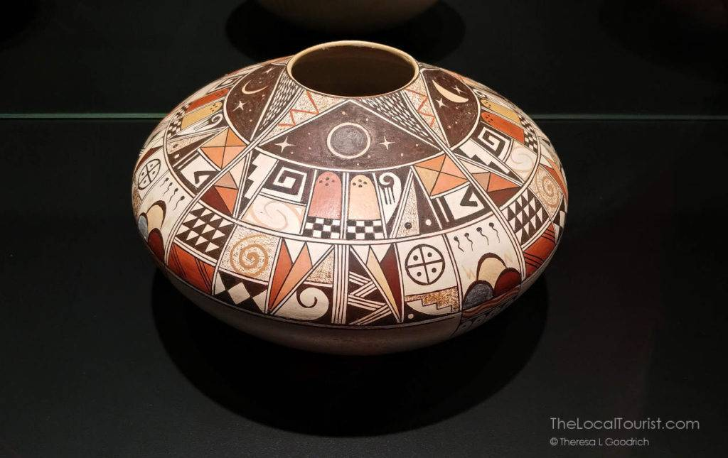 Hopi pottery at Western Spirit: Scottsdale's Museum of the West