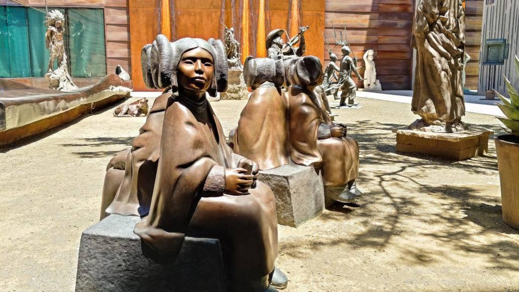 Sculpture Garden at Western Spirit in Old Town Scottsdale