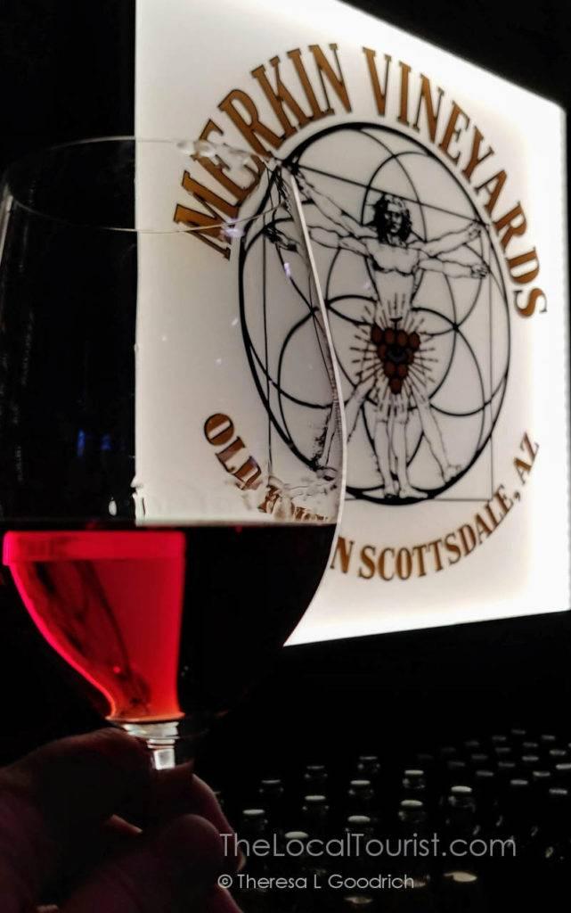 Rose at Merkin Vineyards
