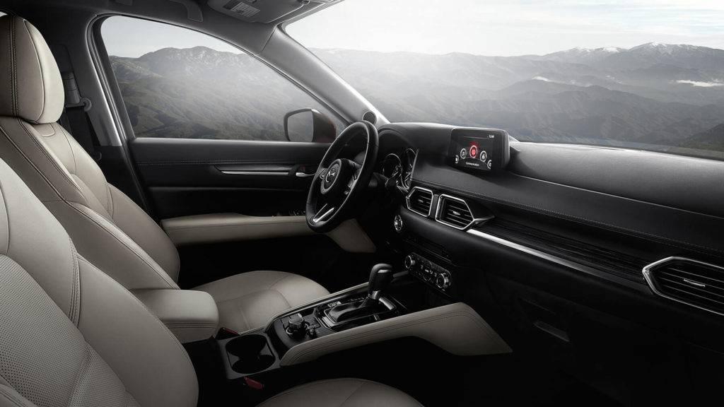 2017 Mazda CX-5 Interior, photo credit Mazda