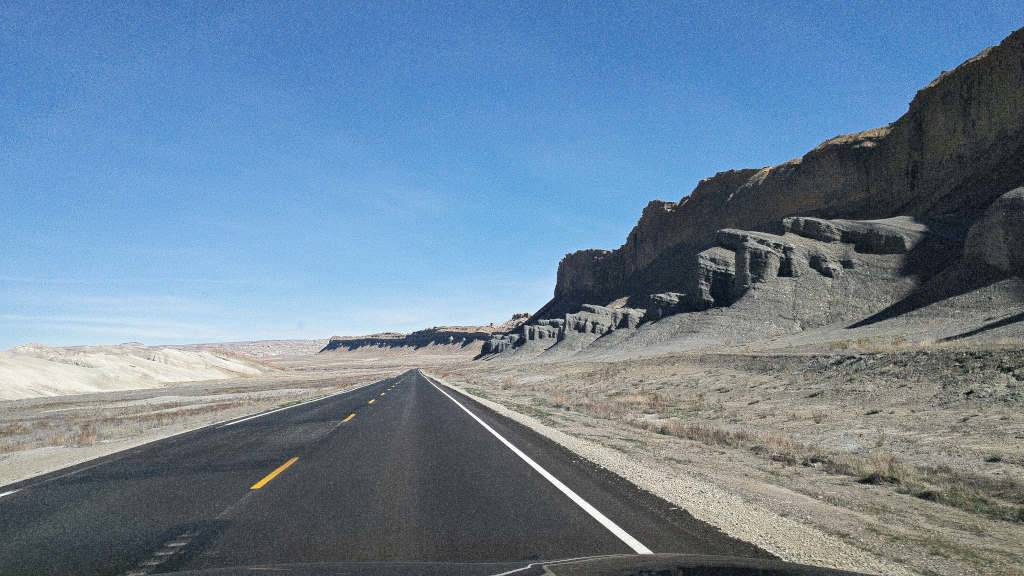 UT-12 East of Capitol Reef National Park